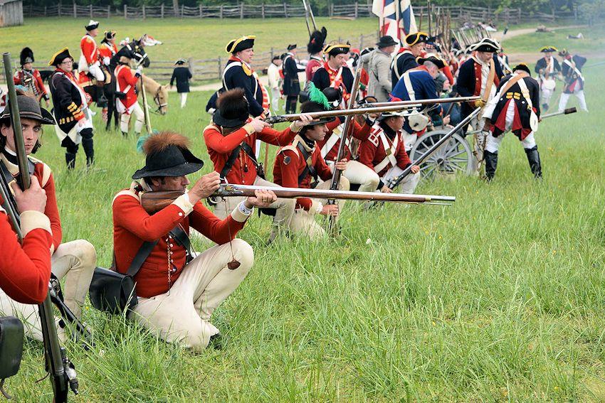 2017 Escape from Boston Revolutionary War Reenactment | Spencer