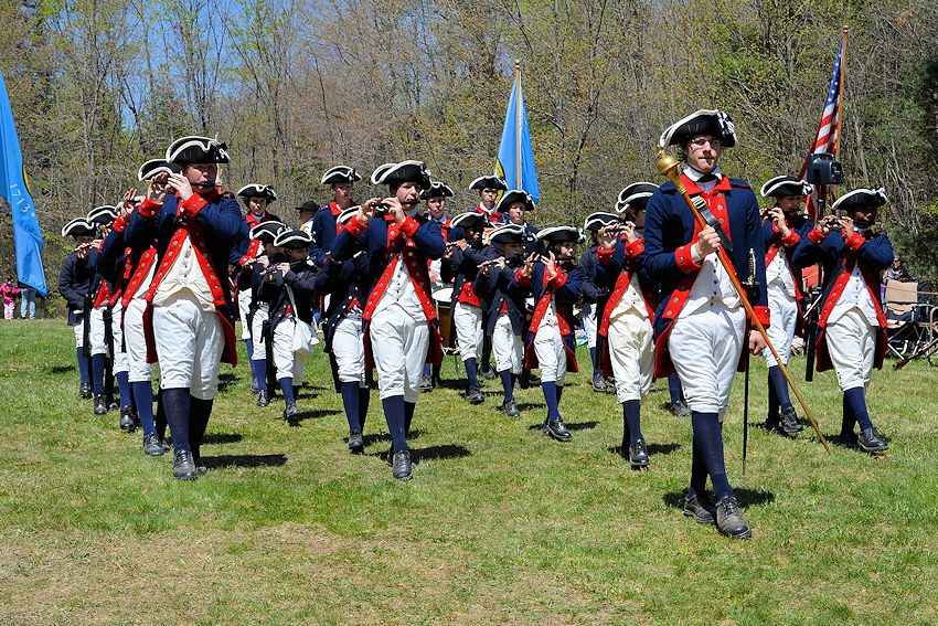 lexington tatoo and muster - Muster