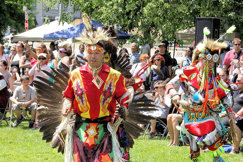 Na-Me-Res Traditional Pow Wow - Fort York National Historic Site - Native Men's Residence
