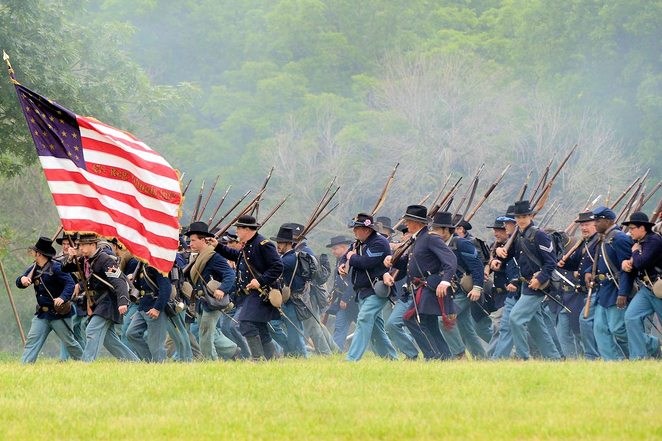 2019 Lake County Forest Preserves Civil War Days in Wauconda
