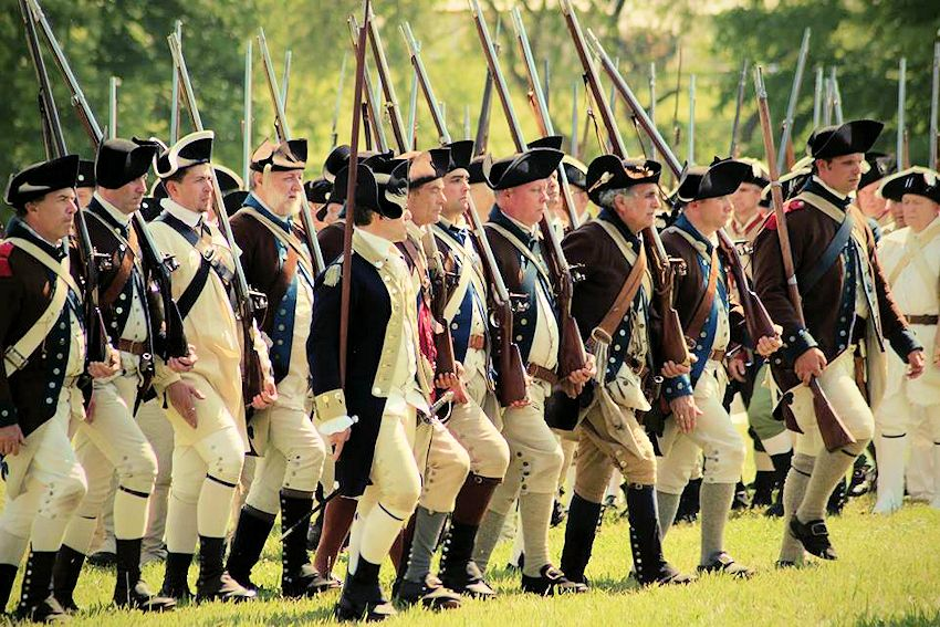 5th New York Regiment | Revolutionary War Reenactors