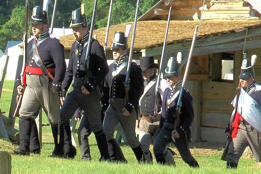 7th Us Infantry Living History Association War Of 1812