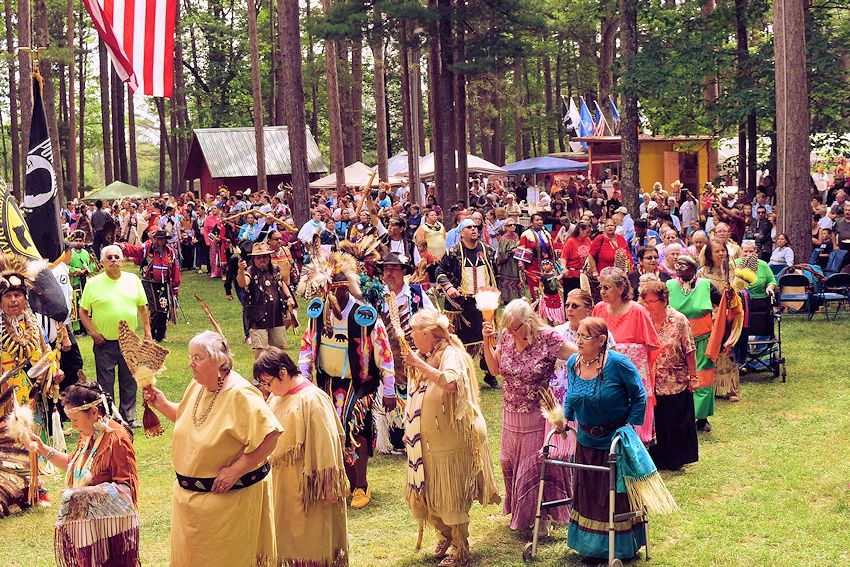 Keweenaw Bay Maawanji'iding Pow Wow - Keweenaw Bay Indian Community - Ojibwa Campgrounds - KBIC Cultural Committee