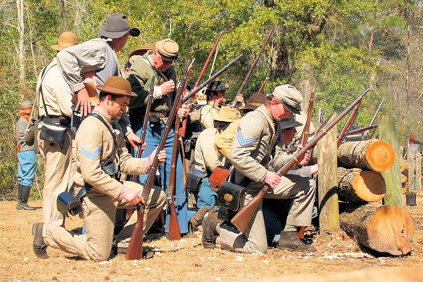 2018 Battle of Natural Bridge Reenactment | Civil War