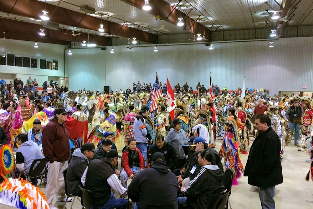 Dakota Nation Winterfest Wacipi