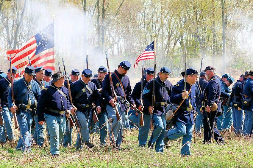 Civil war reenactors dating service