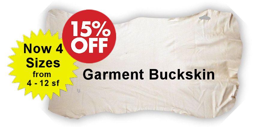 Garment Buckskin - White