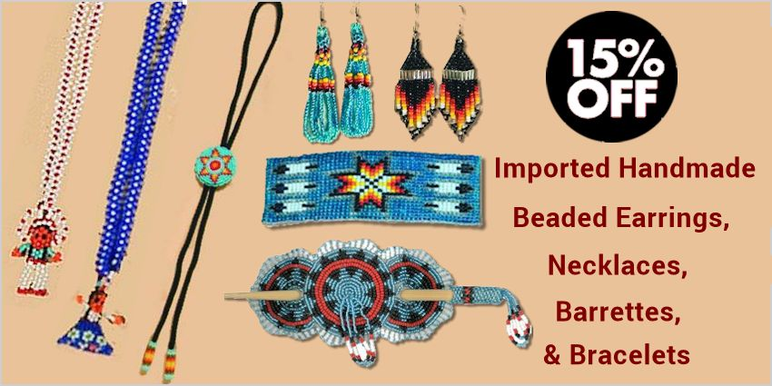 Beaded Necklaces, Earrings, Barrettes & Bracelets