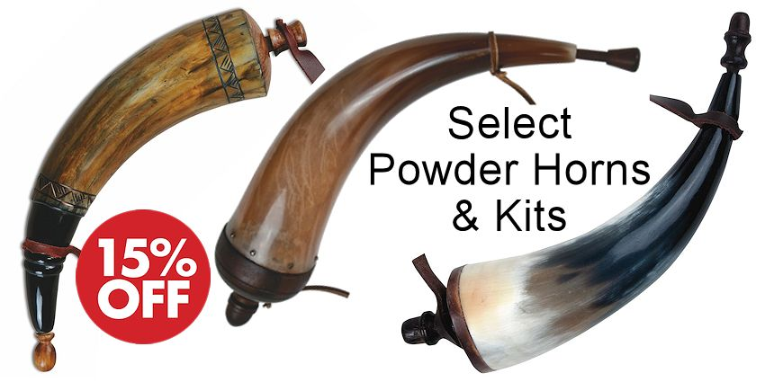Powder Horns & Powder Horn Kits